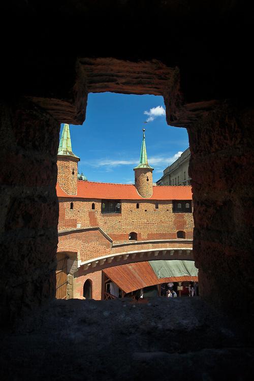 Barbican, Cracow, Poland