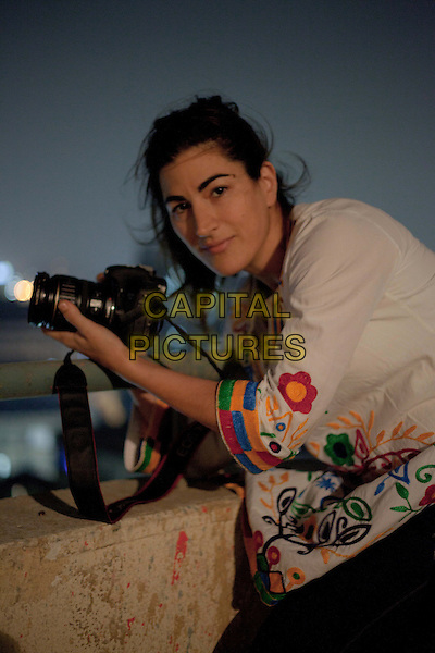 Jehane Noujaim (Director)<br /> on the set of The Square (2013) <br /> *Filmstill - Editorial Use Only*<br /> CAP/NFS<br /> Image supplied by Capital Pictures