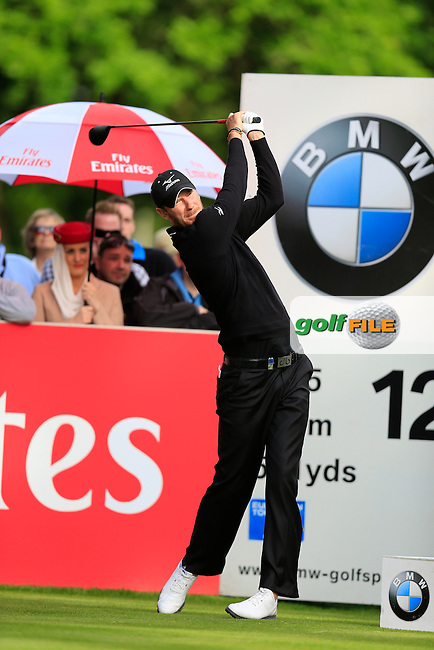 Chris WOOD (ENG) during round one of the BMW PGA championship, Wentworth Golf Club, Virginia Waters, London.<br /> Picture: Fran Caffrey www.golffile.ie
