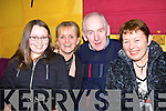 Enjoying the ceili in the Gables restaurant Athea on Friday night were Deirdre Lenihan, Eileen McDonagh Pat Leahy and Teresa Lenihan, all from Newcastle West..