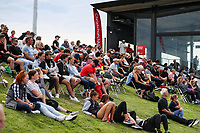Spectators during the Pro League Hockey match between the Blacksticks women and the USA, Nga Punawai, Christchurch, New Zealand, Sunday 16 February 2020. Photo: Simon Watts/www.bwmedia.co.nz