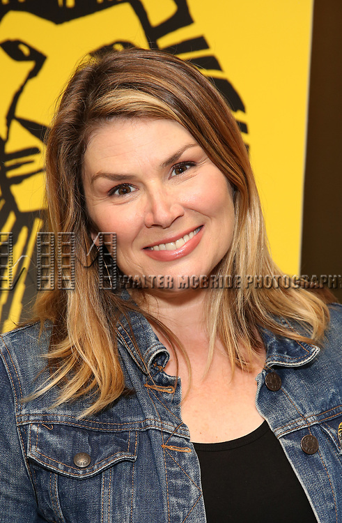 "Heidi Blickenstaff attends the Broadway screening of the Motion Picture Release of ""The Lion King"" at AMC Empire 25 on July 15, 2019 in New York City."