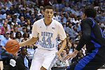 24 October 2014: North Carolina's Justin Jackson (44). The University of North Carolina Tar Heels played the Fayetteville State University Broncos in an NCAA Division I Men's basketball exhibition game at the Dean E. Smith Center in Chapel Hill, North Carolina. UNC won the exhibition 111-58.