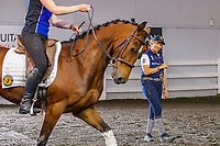 Demo Arena: Jody Hartstone - Straightness Training. 2019 Equitana Auckland. ASB Showgrounds. Auckland. New Zealand. Friday 22 November. Copyright Photo: Libby Law Photography