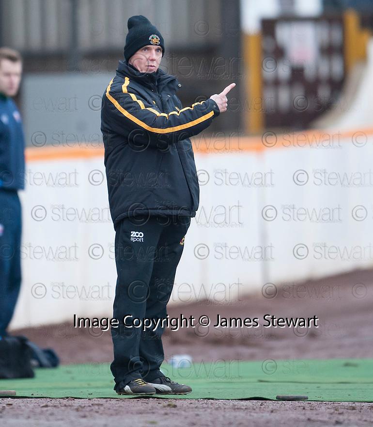 Berwick manager Ian Little.