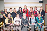 5886-5891.---------.Mind the bunker.---------------.Keel golf society had their Christmas party in Gallys bar/restaurant Castlemaine Rd Tralee last Friday night,enjoying themselves were seated L-R Marlene Ladden,Bernadette Nash,Mary Lawlor,moira O'Shea and Kay Dowling,(back)L-R Isabel Doyle,Betty Foley,Doreen& Buckley,Mura Fitzgerald,Nancy Powell,Siobhan Long and Chris o'Shea.