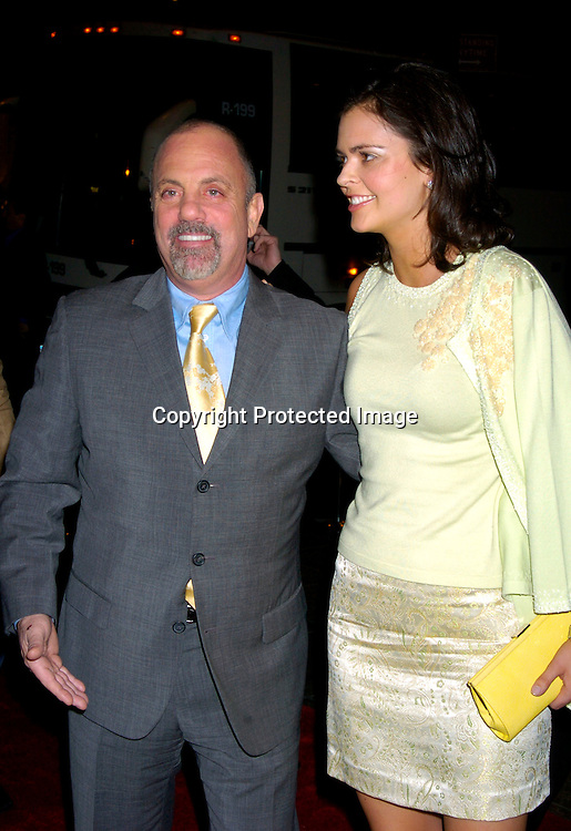 """Billy Joel and fiancee Kate Lee..at """"The Apprentice"""" finale Party on April 15, 2004 at Trump Tower. Photo by Robin Platzer, Twin Images"""