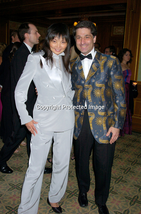 Irina and husband ..at the 2004 Pen Literary Dinner and the Presentation of Free Expression Awards  on April 20, 2004 at The ..Pierre Hotel in New York City. ..Photo by Robin Platzer, Twin Images