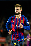Gerard Pique Bernabeu of FC Barcelona in action during the La Liga match between Barcelona and Real Sociedad at Camp Nou on May 20, 2018 in Barcelona, Spain. Photo by Vicens Gimenez / Power Sport Images