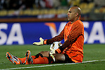 12 JUN 2010:  Tim Howard (USA).  The England National Team played the United States National Team played to a 1-1 tie at Royal Bafokeng Stadium in Rustenburg, South Africa in a 2010 FIFA World Cup Group C match.