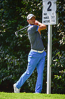 Martin Kaymer (GER) watches his tee shot on 2 during round 1 of the World Golf Championships, Mexico, Club De Golf Chapultepec, Mexico City, Mexico. 3/2/2017.<br /> Picture: Golffile | Ken Murray<br /> <br /> <br /> All photo usage must carry mandatory copyright credit (&copy; Golffile | Ken Murray)