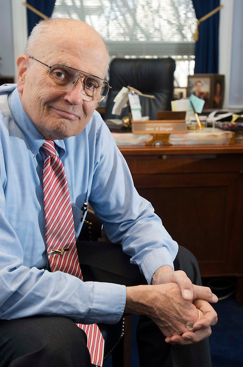 2/16/06.REP. JOHN D. DINGELL--Rep. John D. Dingell, D-Mich., in his office. First elected in 1955, Dingell entered his 50th year in Congress at the start of the 109th Congress. He is the longest currently serving member of the House..CONGRESSIONAL QUARTERLY PHOTO BY SCOTT J. FERRELL