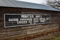 The Whited Grist Mill operated from 1903 thru 1944 and was moved to it's current location at Ackley Park in Elk City Oklahoma on Route 66.
