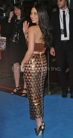 Olivia Munn at the &quot;X-Men : Apocalypse&quot; global fan screening, BFI Imax, Charlie Chaplin Walk, London, England, UK, on Monday 09 May 2016.<br /> CAP/CAN<br /> &copy;CAN/Capital Pictures /MediaPunch ***NORTH AND SOUTH AMERICA ONLY***