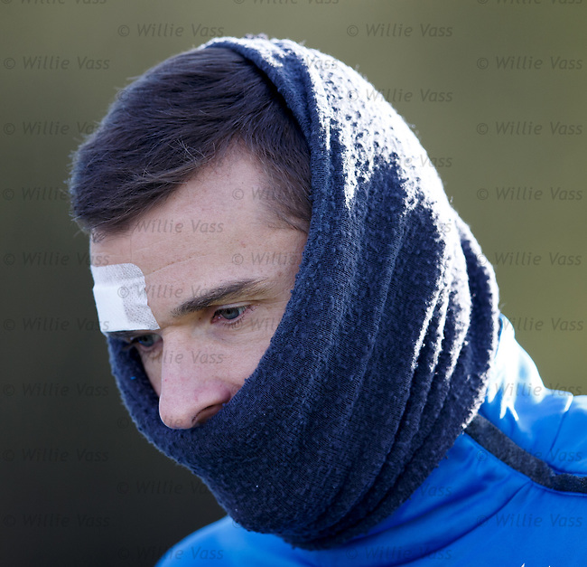 Lee McCulloch and his plastered head