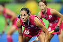 Mayumi Ono (JPN), <br /> AUGUST 11, 2016 - Hockey : <br /> Women's Pool Match <br /> between Japan Women's 0-2 Great Britain Women's <br /> at Olympic Hockey Centre <br /> during the Rio 2016 Olympic Games in Rio de Janeiro, Brazil. <br /> (Photo by YUTAKA/AFLO SPORT)
