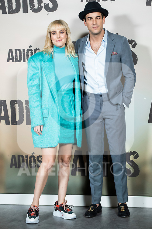 Natalia de Molina and Mario Casas in the press junction of 'ADIOS', the new work of director Paco Cabezas, which has an undisputed and recognized cast headed by Mario Casas, the two-time winner of Goya Natalia de Molina, and Goya nominees Ruth Diaz and Carlos Bardem.<br /> November 15, 2019. <br /> (ALTERPHOTOS/David Jar)