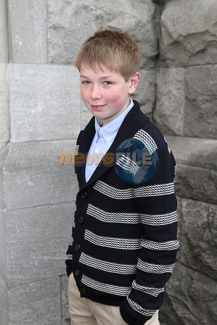 Cormac Birch at Le Cheile Confirmation in St.Mary's Church...(Photo Jenny Matthews/www.newsfile.ie)