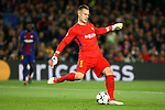 UEFA Champions League 2017/2018.<br /> Quarter-finals 1st leg.<br /> FC Barcelona vs AS Roma: 4-1.<br /> Marc-Andre Ter Stegen.