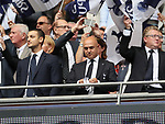 Tottenham's Daniel Levy looks on during the premier league match at the Wembley Stadium, London. Picture date 20th August 2017. Picture credit should read: David Klein/Sportimage