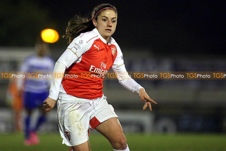 Danielle Van De Donk of Arsenal during Arsenal Ladies vs Reading FC Women, FAWSL1 Football at Meadow Park on 23rd March 2016