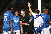16th June 2017, Eden Park, Auckland, New Zealand; International Rugby Pasifika Challenge; New Zealand versus Samoa;  Anton Lienert-Brown of New Zealand reacts after socring a try