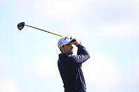 Oliver Wilson (ENG) on the 5th tee during Round 4 of the Betfred British Masters 2019 at Hillside Golf Club, Southport, Lancashire, England. 12/05/19<br /> <br /> Picture: Thos Caffrey / Golffile<br /> <br /> All photos usage must carry mandatory copyright credit (© Golffile | Thos Caffrey)