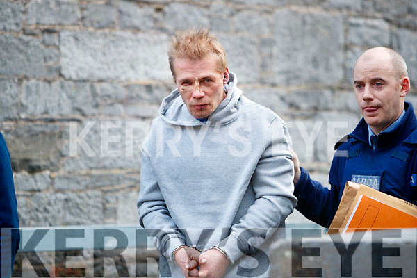 Zits Lemnic, Dingle at Tralee Court on Monday.