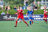 Boston, MA - Saturday July 01, 2017: Havana Solaun during a regular season National Women's Soccer League (NWSL) match between the Boston Breakers and the Washington Spirit at Jordan Field.