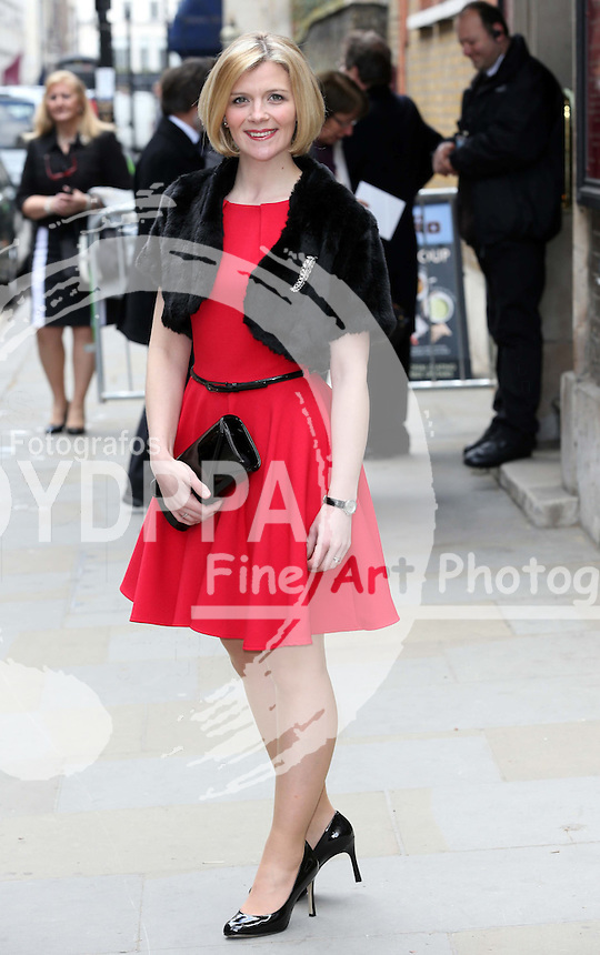 Jane Danson   arriving for the wedding of Coronation Street actress Helen Worth   at St.James's Church in Piccadilly, London, Saturday 6th   April 2013.  Photo by: Stephen Lock / i-Images / DyD Fotografos