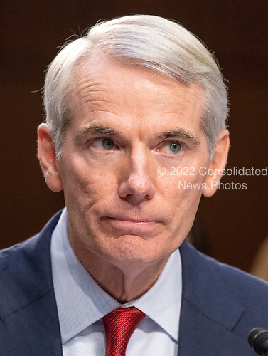 United States Senator Rob Portman (Republican of Ohio)  introduces Judge Brett Kavanaugh before the US Senate Judiciary Committee on his nomination as Associate Justice of the US Supreme Court to replace the retiring Justice Anthony Kennedy on Capitol Hill in Washington, DC on Tuesday, September 4, 2018.<br /> Credit: Ron Sachs / CNP<br /> (RESTRICTION: NO New York or New Jersey Newspapers or newspapers within a 75 mile radius of New York City)