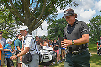 Phil Mickelson (USA) heads to 3 during 4th round of the World Golf Championships - Bridgestone Invitational, at the Firestone Country Club, Akron, Ohio. 8/5/2018.<br /> Picture: Golffile | Ken Murray<br /> <br /> <br /> All photo usage must carry mandatory copyright credit (© Golffile | Ken Murray)