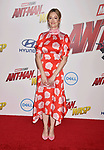 HOLLYWOOD, CA - JUNE 25: Judy Greer arrives at the Premiere Of Disney And Marvel's 'Ant-Man And The Wasp' at the El Capitan Theatre on June 25, 2018 in Hollywood, California.