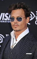 WWW.BLUESTAR-IMAGES.COM Actor Johnny Depp arrives at 'The Lone Ranger' World Premiere at Disney's California Adventure on June 22, 2013 in Anaheim, California.<br /> Photo: BlueStar Images/OIC jbm1005  +44 (0)208 445 8588