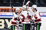 S&ouml;dert&auml;lje 2014-10-23 Ishockey Hockeyallsvenskan S&ouml;dert&auml;lje SK - Malm&ouml; Redhawks :  <br /> Malm&ouml; Redhawks Joey Tenute firar sitt 6-2 m&aring;l med lagkamrater<br /> (Foto: Kenta J&ouml;nsson) Nyckelord: Axa Sports Center Hockey Ishockey S&ouml;dert&auml;lje SK SSK Malm&ouml; Redhawks jubel gl&auml;dje lycka glad happy