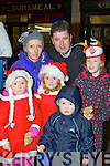 Laura, Grace, Avril, Jack and Claire Ahern Killarney waiting for Santa to arrive in Killarney on Friday night....