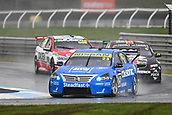 15th September 2017, Sandown Raceway, Melbourne, Australia; Wilson Security Sandown 500 Motor Racing; Michael Caruso (23) leads the Nissan Motorsport Nissan Altima during Supercars practice