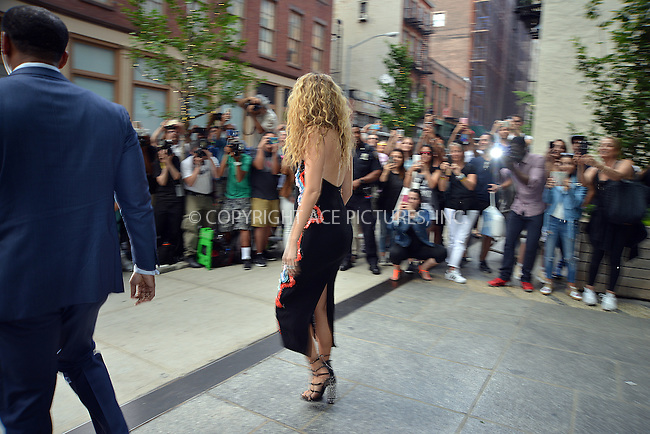 www.acepixs.com<br /> <br /> June 22 2016, New York City<br /> <br /> So many photographers and onlooked gathered outside the Crosby hotel in Soho to photograph Blake Lively leaving that police had to be deployed to maintain good order on June 22 2016 in New York City<br /> <br /> By Line: Curtis Means/ACE Pictures<br /> <br /> <br /> ACE Pictures Inc<br /> Tel: 6467670430<br /> Email: info@acepixs.com<br /> www.acepixs.com