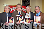 Brothers Jerry, Donal, Pat and Tim Moriarty who received Gold pins from the Beaufort Pioneers in St Mary's Church Beaufort on Friday .