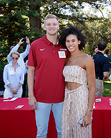 STANFORD, CA - June 15, 2018: Stanford Athletics hosts a Senior Sendoff reception for graduating student athletes and their families.