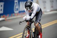 Trixi Worrack (DEU)<br /> <br /> Women TT<br /> UCI Road World Championships / Richmond 2015