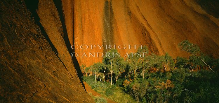Ayers Rock. Northern Territory. Australia.