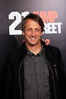 LOS ANGELES, CA - MAR 13: Tony Hawk at the premiere of Columbia Pictures '21 Jump Street' held at Grauman's Chinese Theater on March 13, 2012 in Los Angeles, California
