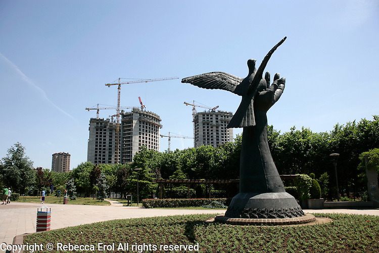 Ozgurluk Park, Kadikoy, Turkey: Ozgurluk means freedom