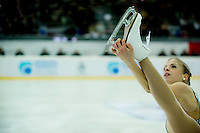 CAMPIONATI ITALIANI ASSOLUTI PATTINAGGIO DI FIGURA SU GHIACCIO 2009 NELLA FOTO CAROLINA KOSTNER SPORT BRESCIA 20/12/2009 FOTO MATTEO BIATTA<br /> <br /> ABSOLUTE ITALIAN CHAMPIONSHIP FIGURE SKATIN ON ICE 2009 IN THE PICTURE CAROLINA KOSTNER SPORT BRESCIA 20/12/2009 PHOTO BY MATTEO BIATTA