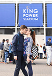Leicester City fans from Italy, Rome, embrace each other before the Barclays Premier League match at the King Power Stadium Leicester. Photo credit should read: Nathan Stirk/Sportimage<br /> <br /> <br /> <br /> <br /> <br /> <br /> <br /> <br /> <br /> <br /> <br /> <br /> <br /> <br /> <br /> <br /> <br /> <br /> <br /> <br /> <br /> <br /> <br /> <br /> <br /> <br /> <br /> <br /> <br /> <br /> - Newcastle Utd vs Tottenham - St James' Park Stadium - Newcastle Upon Tyne - England - 19th April 2015 - Picture Phil Oldham/Sportimage