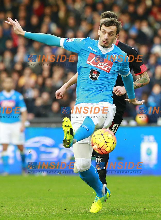 Manolo Gabbiadini Napoli,  <br /> Napoli 31-01-2016 Stadio San Paolo<br /> Football Calcio Serie A 2015/2016 Napoli - Empoli<br /> Foto Cesare Purini / Insidefoto