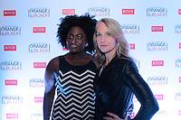 """SÃO PAULO, SP - 15.07.2013: COQUETEL ORANGE IS THE NEW BLACK - Danielle Brooks (Modern Love), junto com Piper Kerman, autora do livro que deu origem à série original da Netflix, """"Orange is The New Black"""", se juntarão aos executivos da Netflix e convidados especiais para celebrar o recente lançamento da série no Brasil em um coquetel que acontece no Blá Bar, em São Paulo nesta segunda-feira (15). (Foto: Marcelo Brammer / Brazil Photo Press)."""