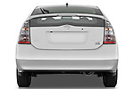 Straight rear view of a 2008 Toyota Prius Touring