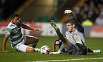 Fraser Forster saves from Serero